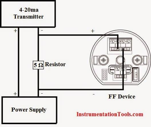 convert 4 20ma current output to foundation fieldbus Junction Box Wiring
