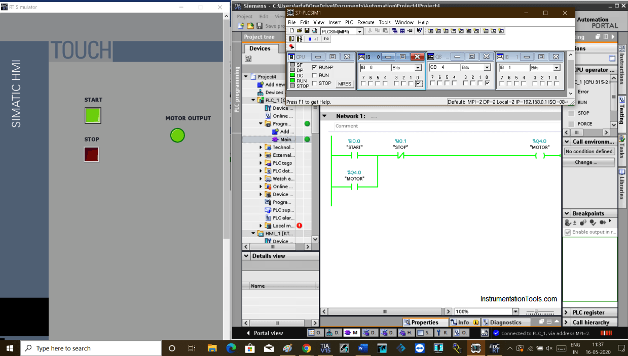 Siemens S7 Input & Output Mapping Tutorial