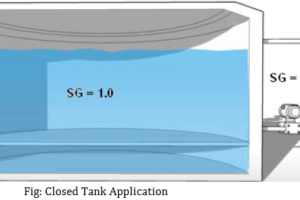 Closed Tank Application