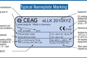 Nameplate Markings