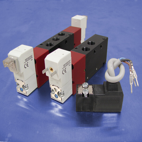 Solenoid Operated Valves and Latching Valves