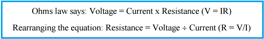 4 Wire RTD Formula