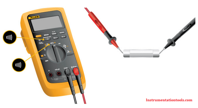 Continuity Testing using Multimeter