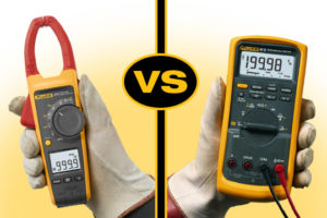 Difference Between Clamp Meters and Digital Multimeters