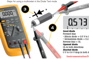 How to Test Diodes Using Multimeter