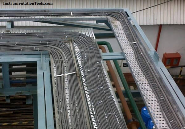 Instrumentation Cable trays in Horizontal Installation