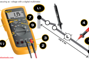 Measure AC Voltage using Multimeter
