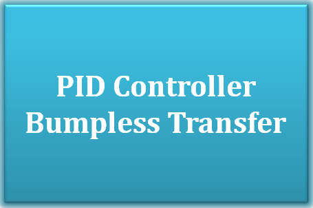 PID Controller Bumpless Transfer