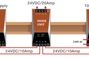 Power Supply Unit with Diode Protection