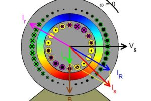 Squirrel Cage Induction Motor Synchronous View