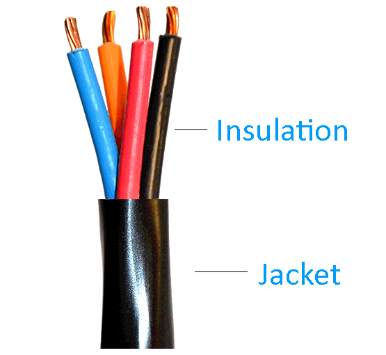 Differences between Cable Jackets & Insulations