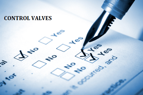 Basic Requirements of Sizing the Control Valves