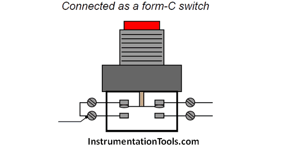 pushbutton switches and types of switches instrumentation