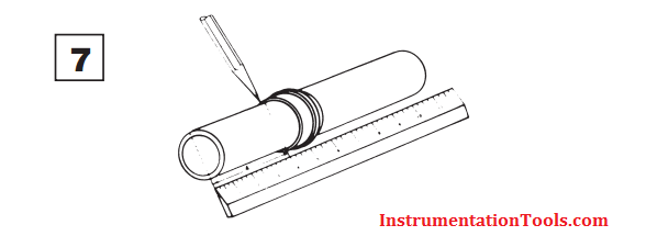 SS Tube Measure and Mark