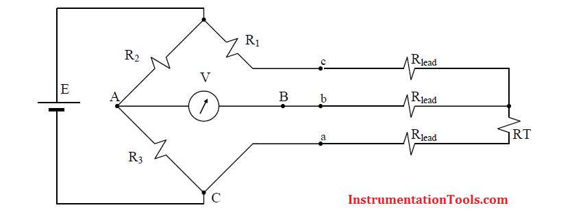 Three Wire RTD Temperature Compensation