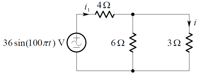current-divider-rule-circuit