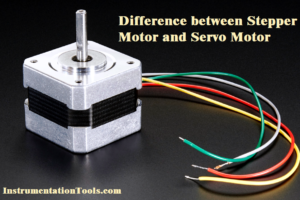 Difference between Stepper and Servo Motor
