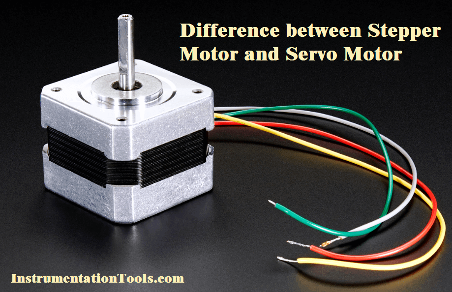 Difference between stepper motor and servo motor for Stepping motors and their microprocessor controls