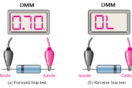Diode-testing-with-multimeter