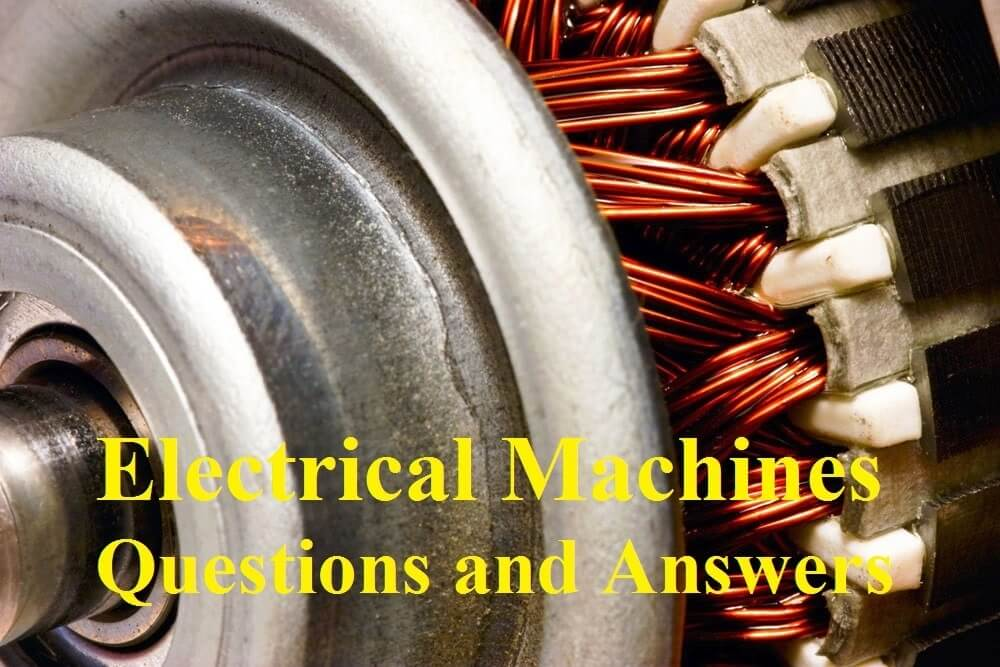 electrical machines 2 lab viva questions answers Archives