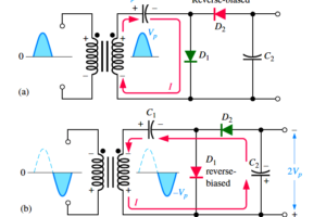 half-wave-voltage-doubler-using-diodes