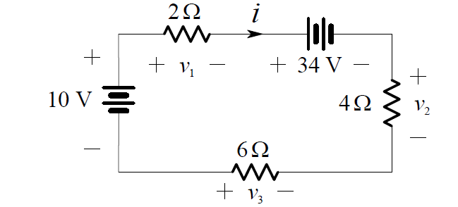 independent-voltage-sources-in-series-circuit-example