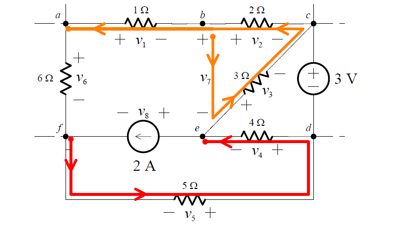 kirchhoffs-voltage-law-circuit