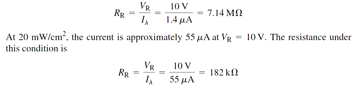 photodiode-equation