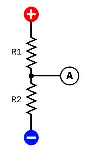 Resistor Used For Voltage Divider