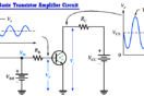 Basic Transistor Amplifier Circuit Principle