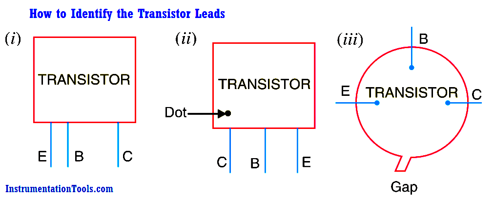 How to Identify the Transistor Leads