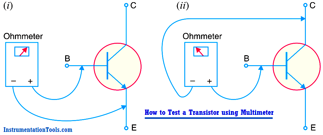 How to Test a Transistor using Multimeter