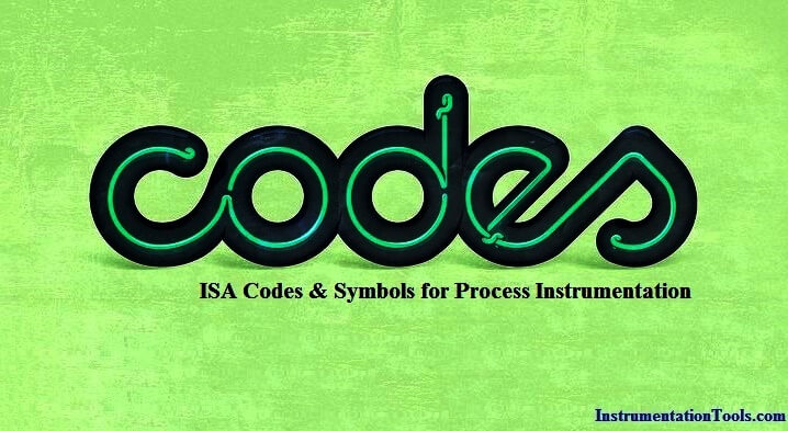 ISA symbols for Process Instrumentation
