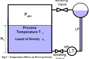 Temperature Effect on Wet-Leg System