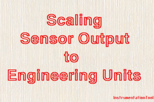Scaling Sensor Output to Engineering Units