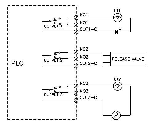 PLC Isolated Contact Wiring
