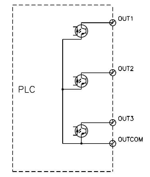 Transistor Sourcing Output