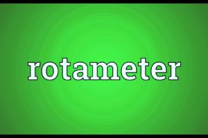 How to Install a Rotameter