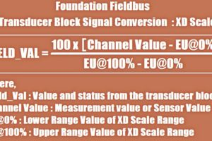 Foundation Fieldbus Signal Conversion Formula