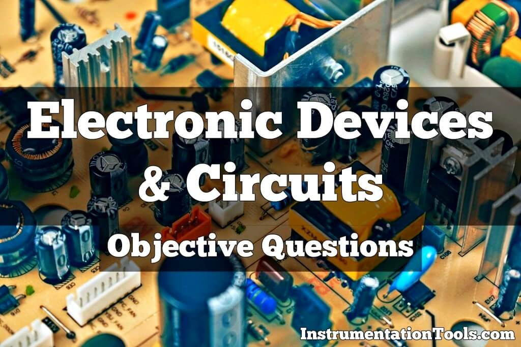 Electronic Devices & Circuits MCQ