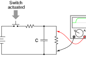 Switch Contact checking with oscilloscope