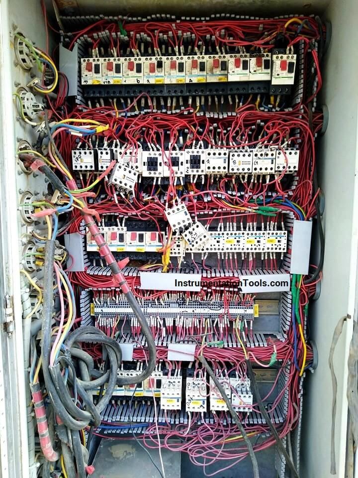 bad electrical panel wiring
