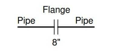 Flanged pipe fittings for Instruments