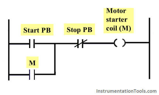PLC Latching Circuit
