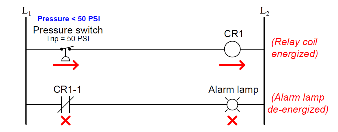 Relay Control Switch Circuit