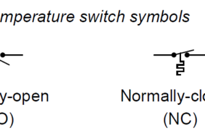 Temperature Switch Symbol