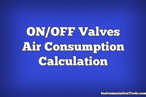 Air Consumption Calculation for Control Valves