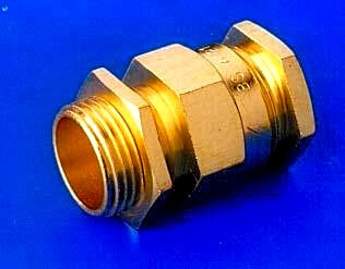 Brass Straitening Unarmored Cable Gland