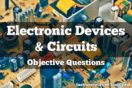 Electronic Devices & Circuits Objective Questions