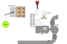 float-type level switch control a pump